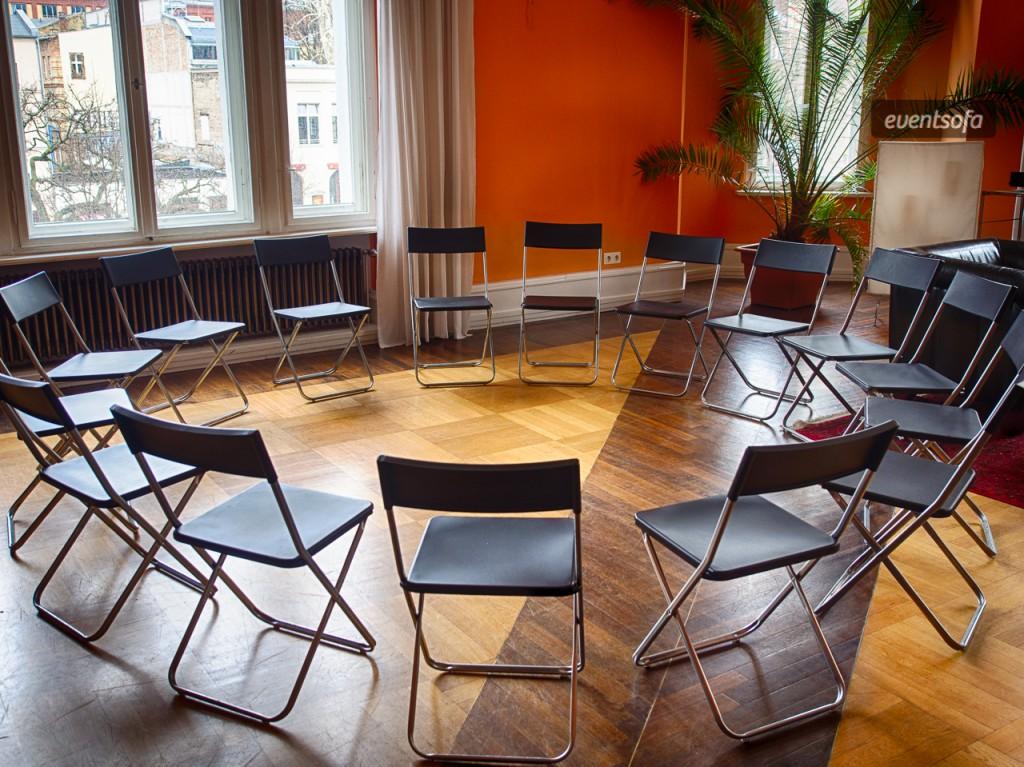 Stuhlkreis für Workshops