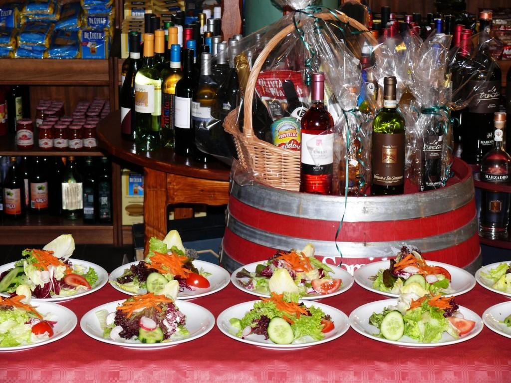 Salatbar alimentari-red