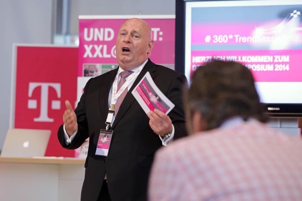 Sales Power- Zeitgemäßes Eventformat- Telekom Sales Symposium