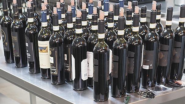 Spitzentreffen italienischer Weine