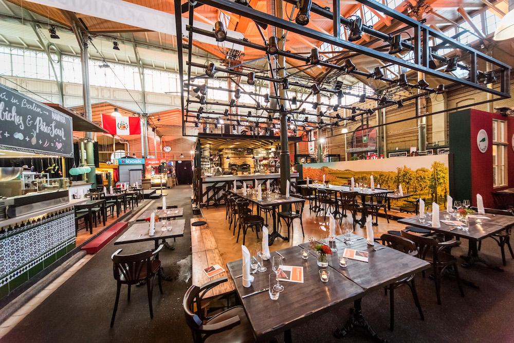 Gastronomie Markthalle